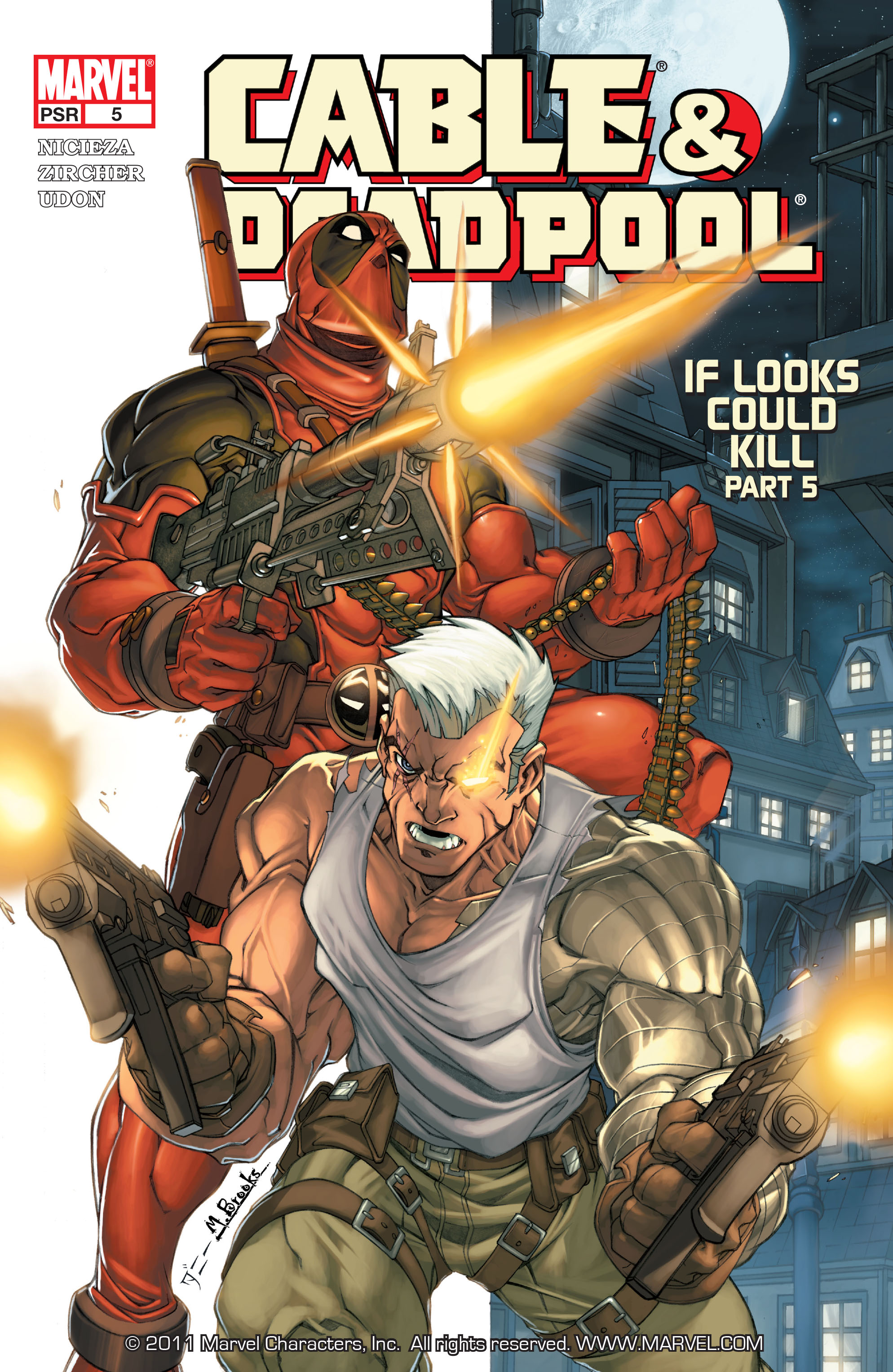 Cable and Deadpool 5 Page 1