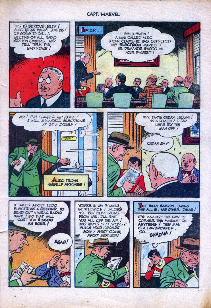 Captain Marvel Adventures issue 87 - Page 7