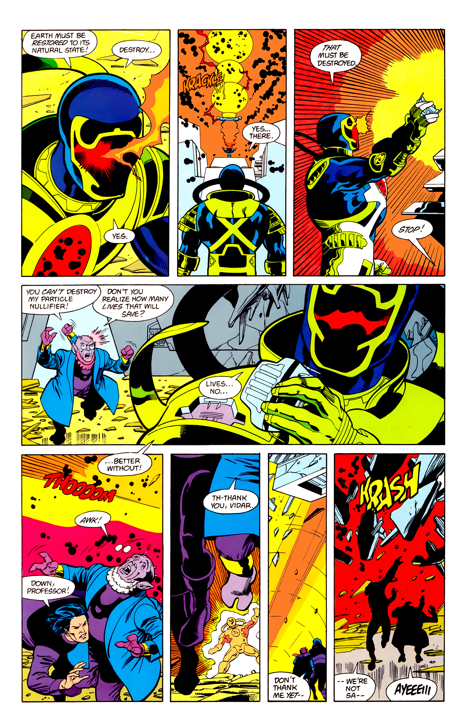 Legion of Super-Heroes (1984) 22 Page 8