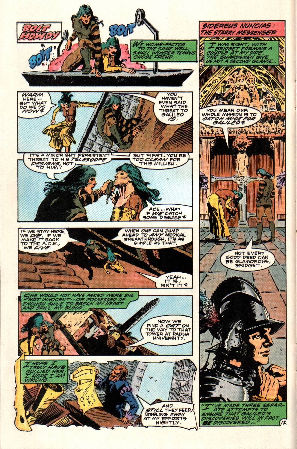 Read online Aztec Ace comic -  Issue #8 - 14