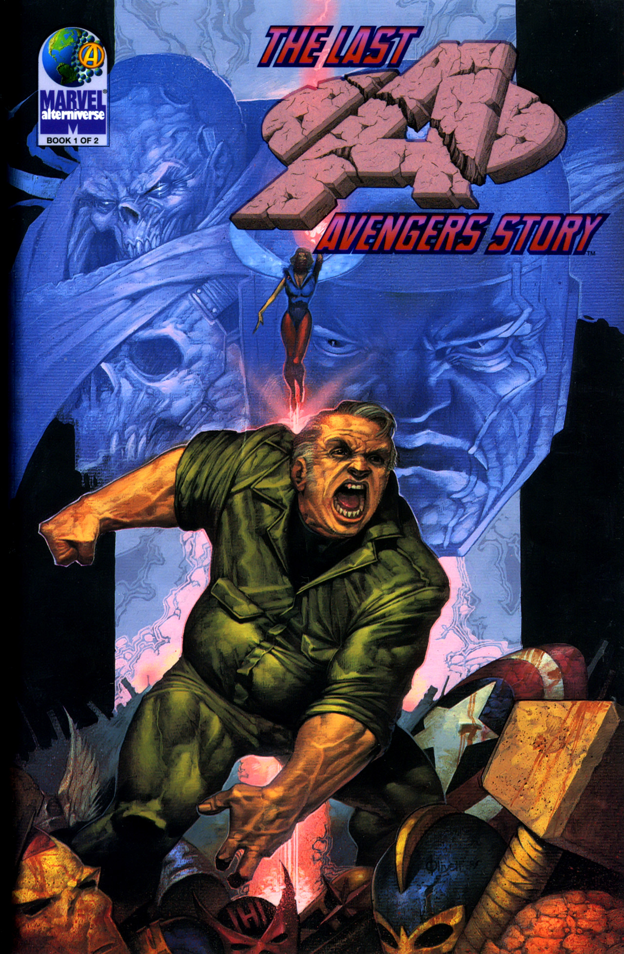 The Last Avengers Story 1 Page 1