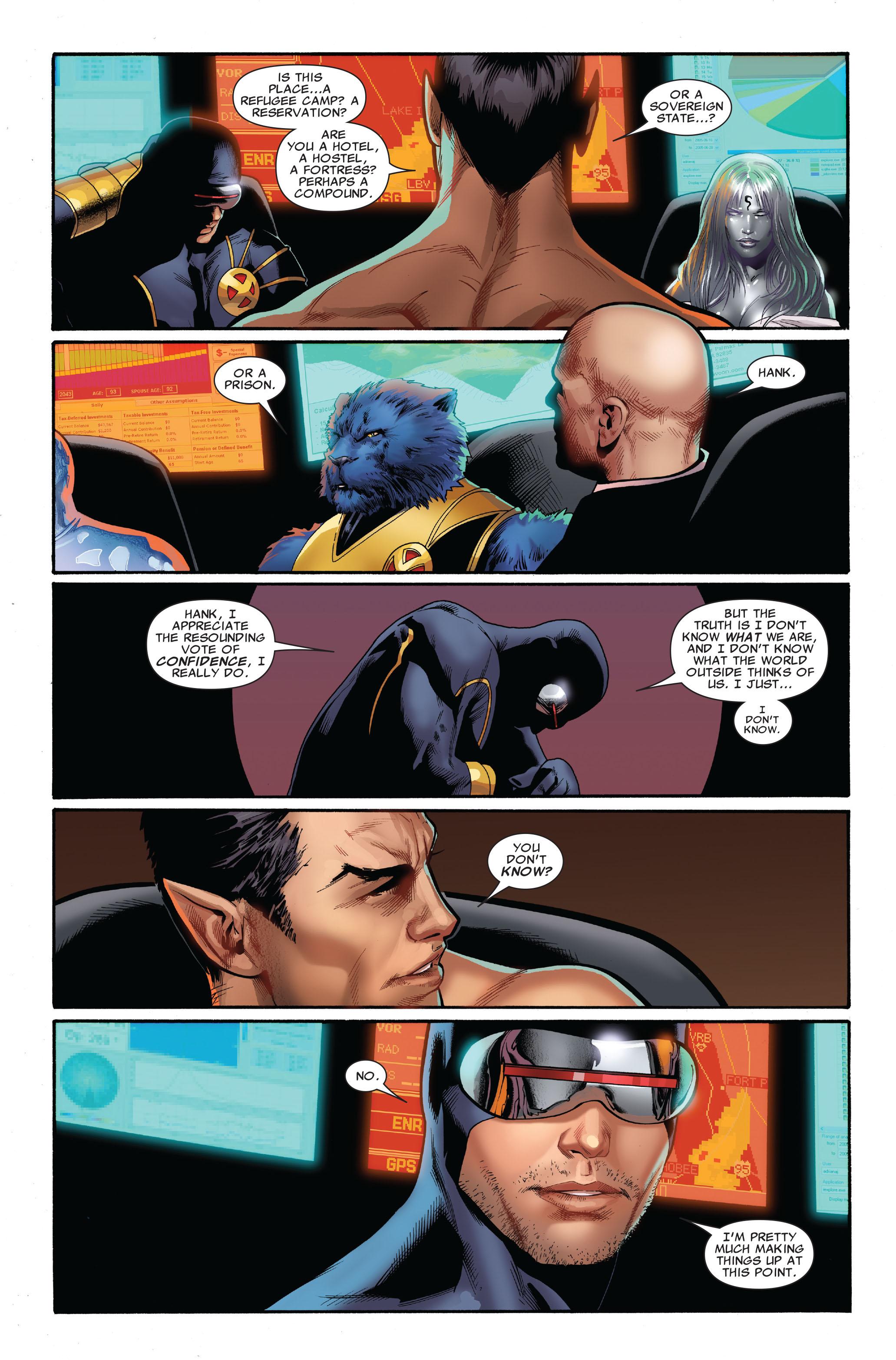 Read online Uncanny X-Men (1963) comic -  Issue #515 - 11
