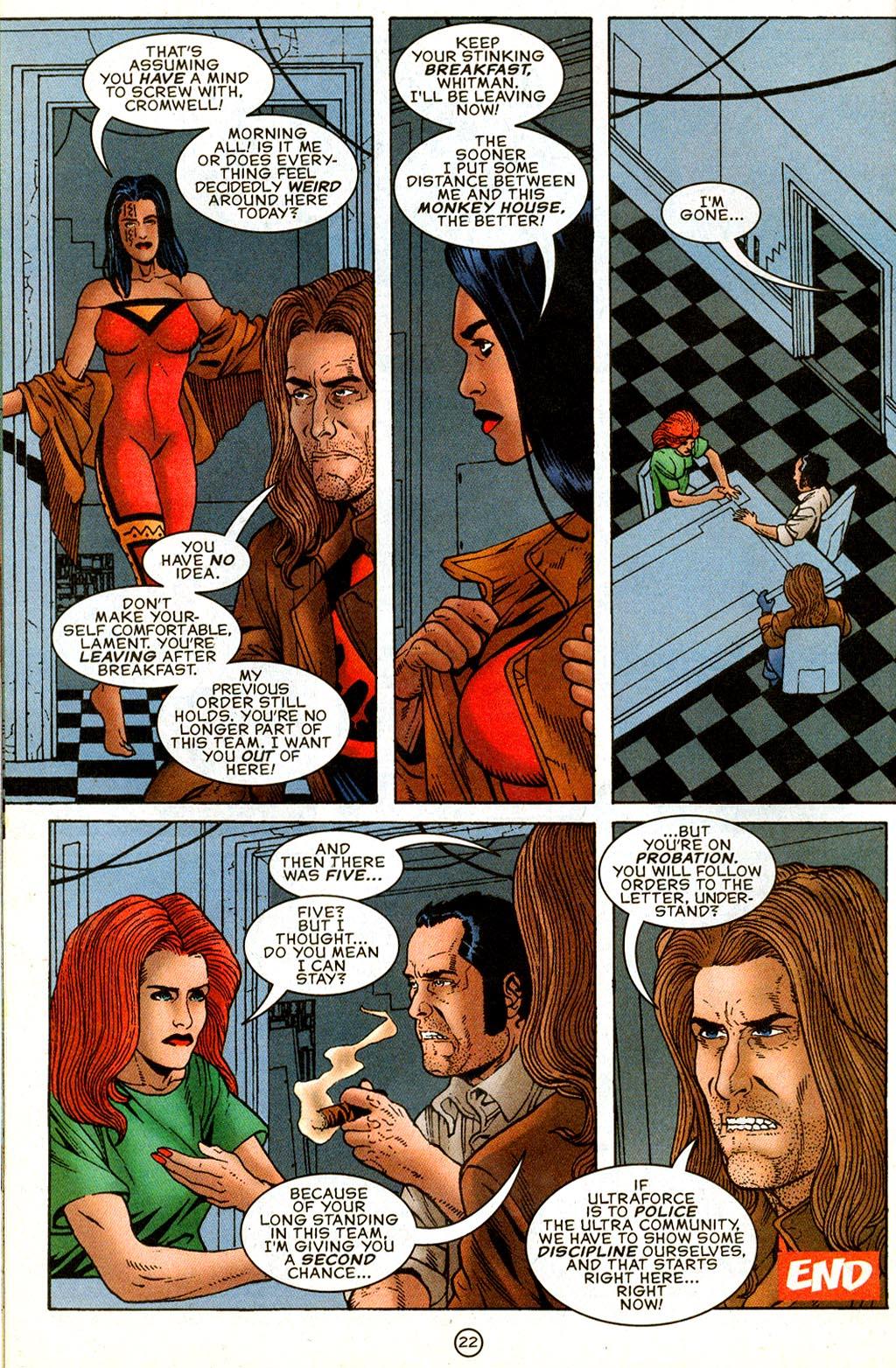 Read online UltraForce (1995) comic -  Issue #9 - 22