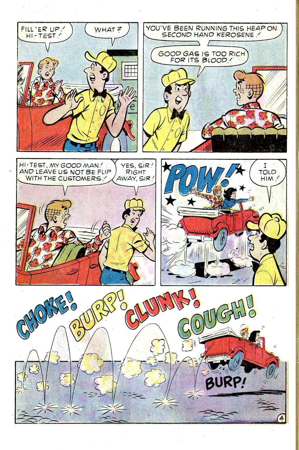 Read online Archie (1960) comic -  Issue #256 - 16