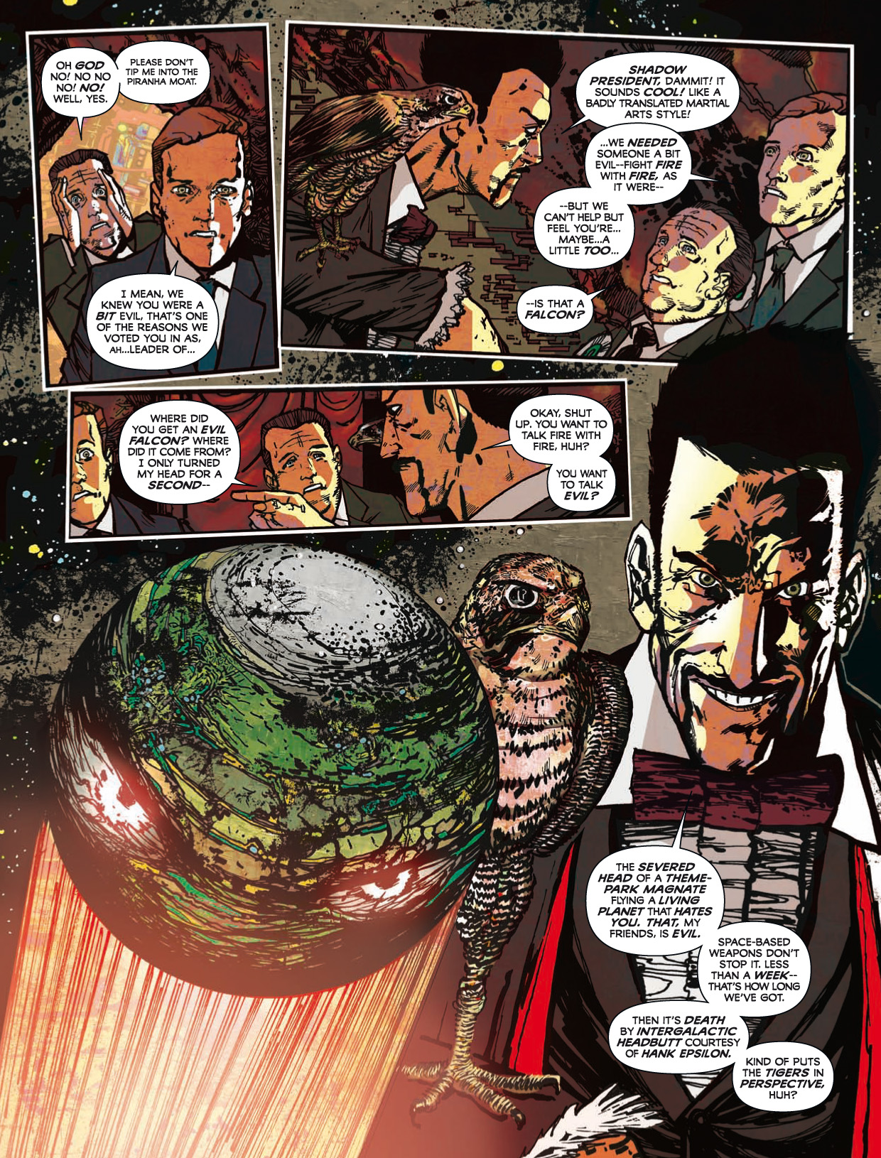 Read online 2000 AD comic -  Issue #1746 - 142
