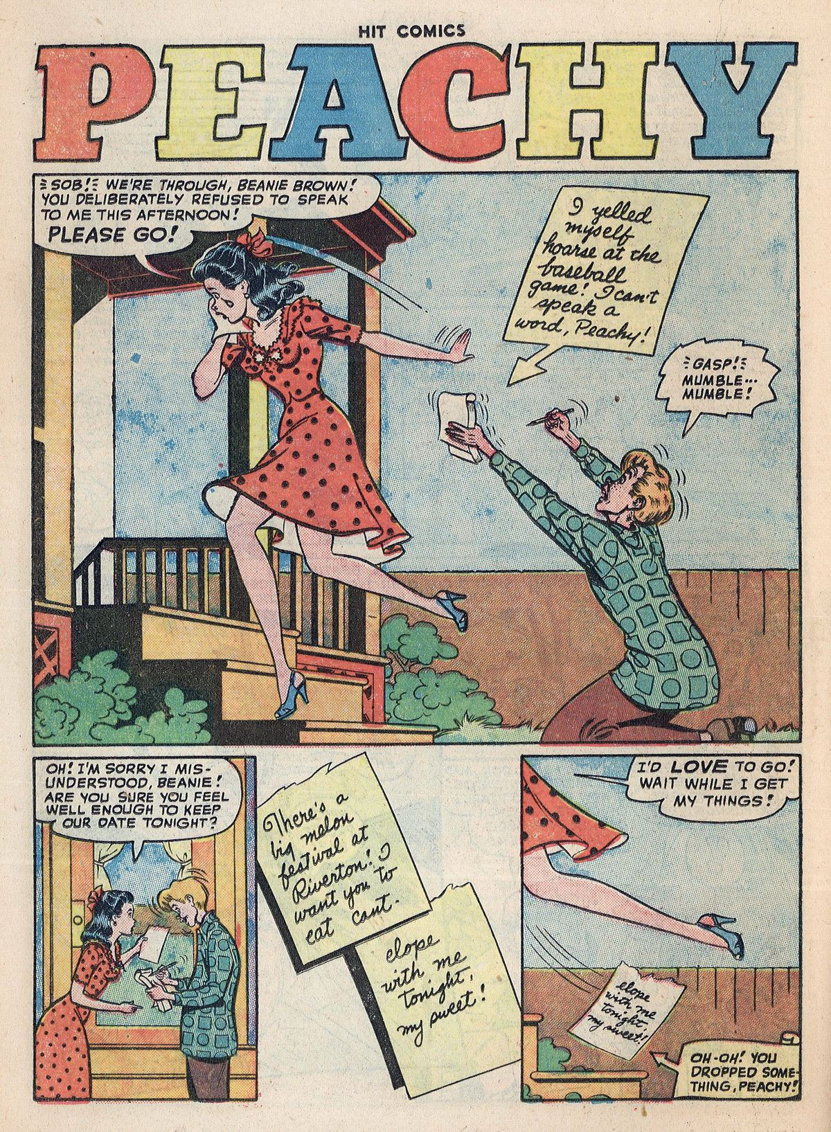Read online Hit Comics comic -  Issue #55 - 26