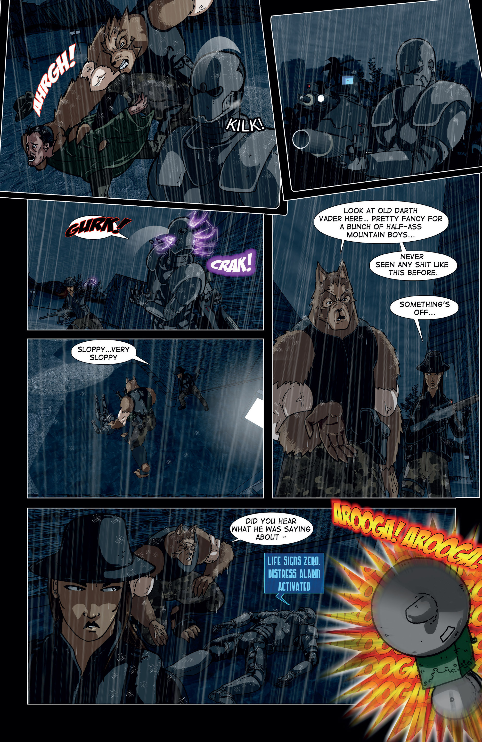 Read online Vanguard (2015) comic -  Issue #2 - 10