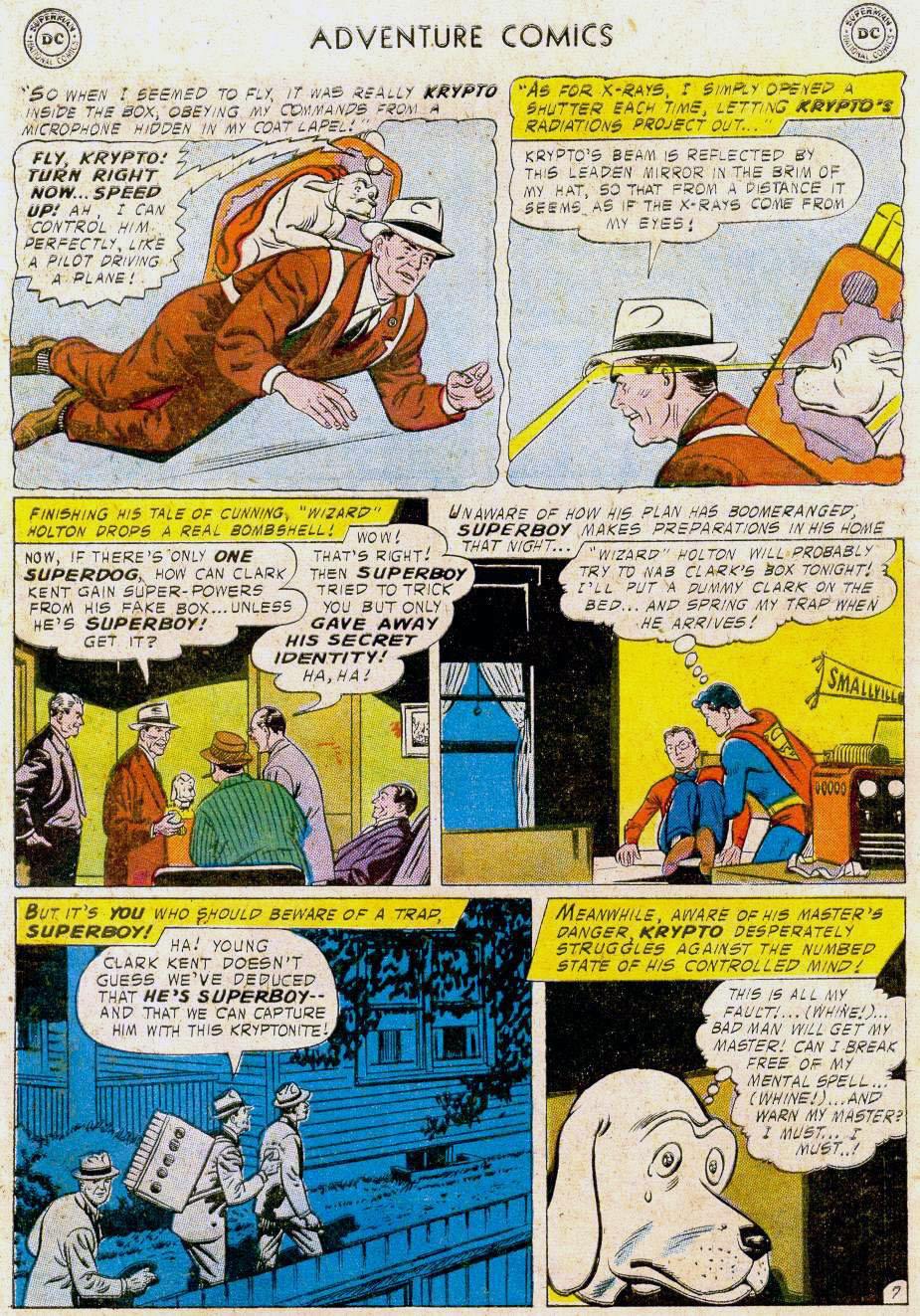 Read online Adventure Comics (1938) comic -  Issue #241 - 9