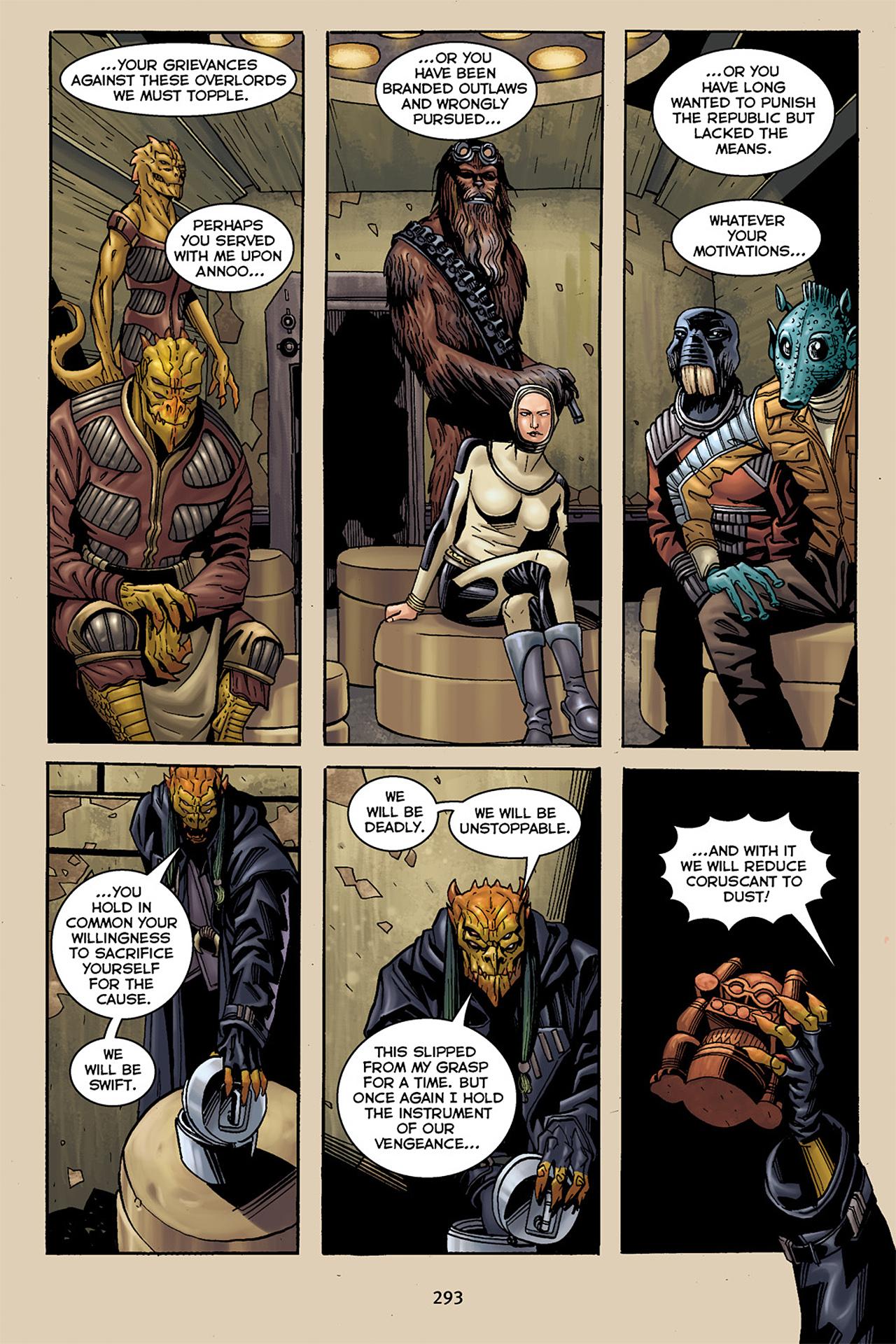 Read online Star Wars Omnibus comic -  Issue # Vol. 10 - 289