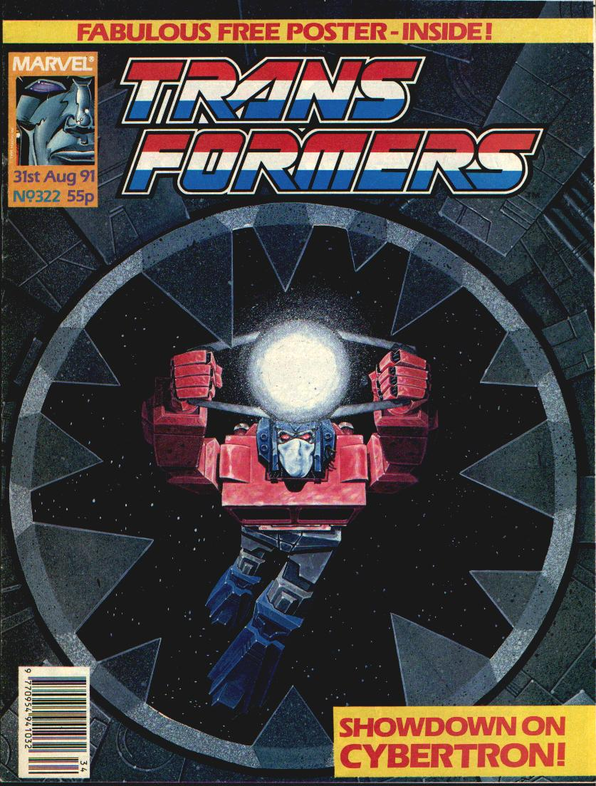 The Transformers (UK) 322 Page 1