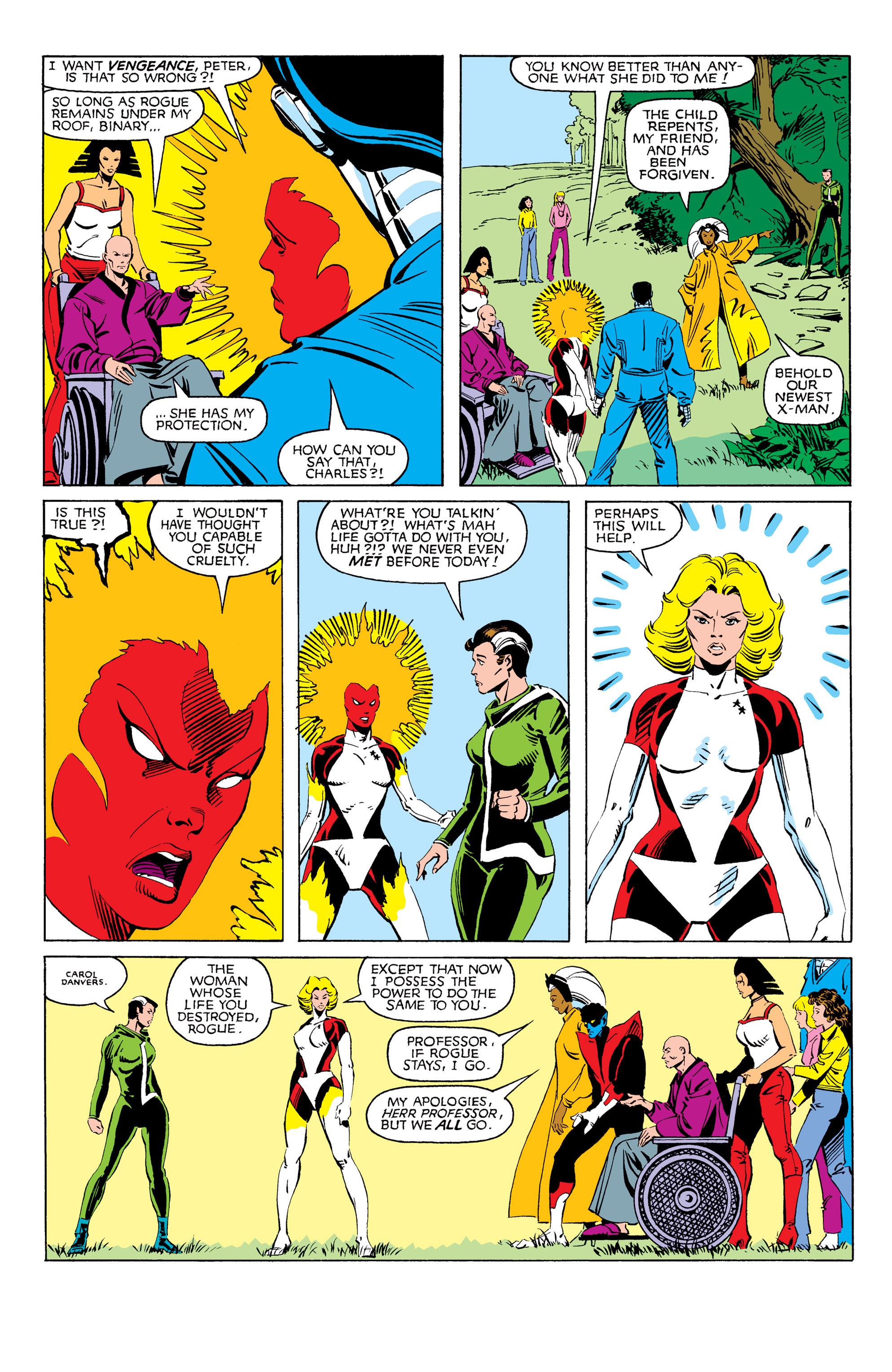 Read online Uncanny X-Men (1963) comic -  Issue #171 - 22