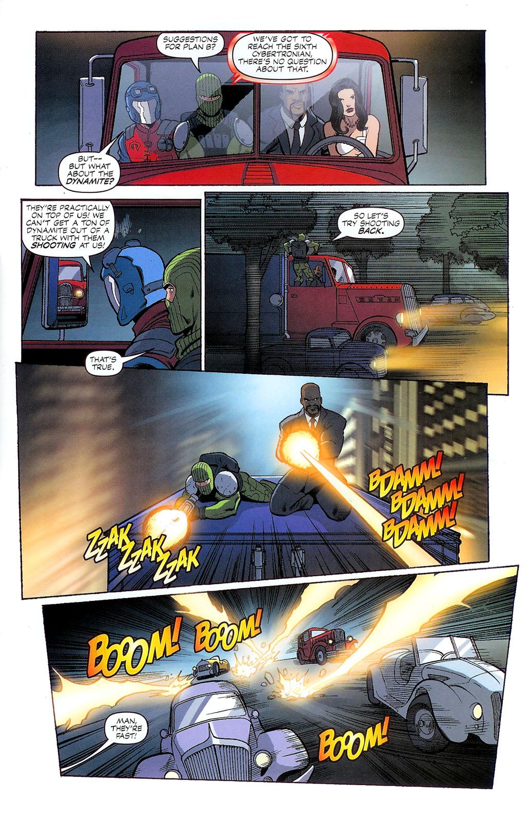 G.I. Joe vs. The Transformers II Issue #2 #3 - English 19