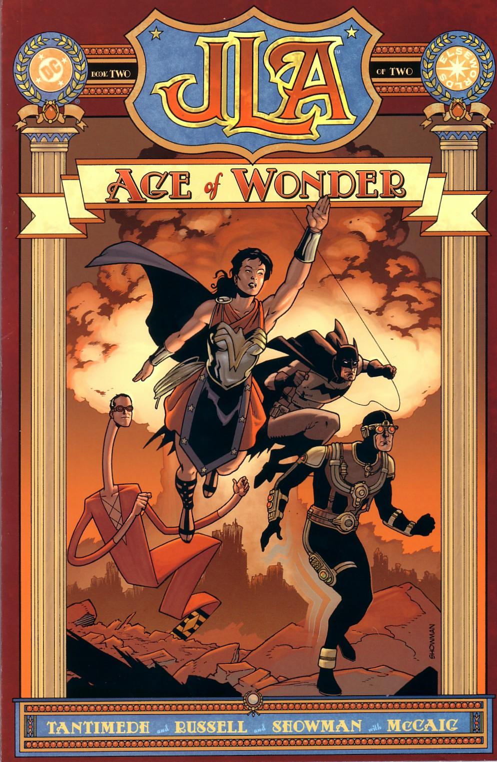JLA: Age of Wonder 2 Page 1