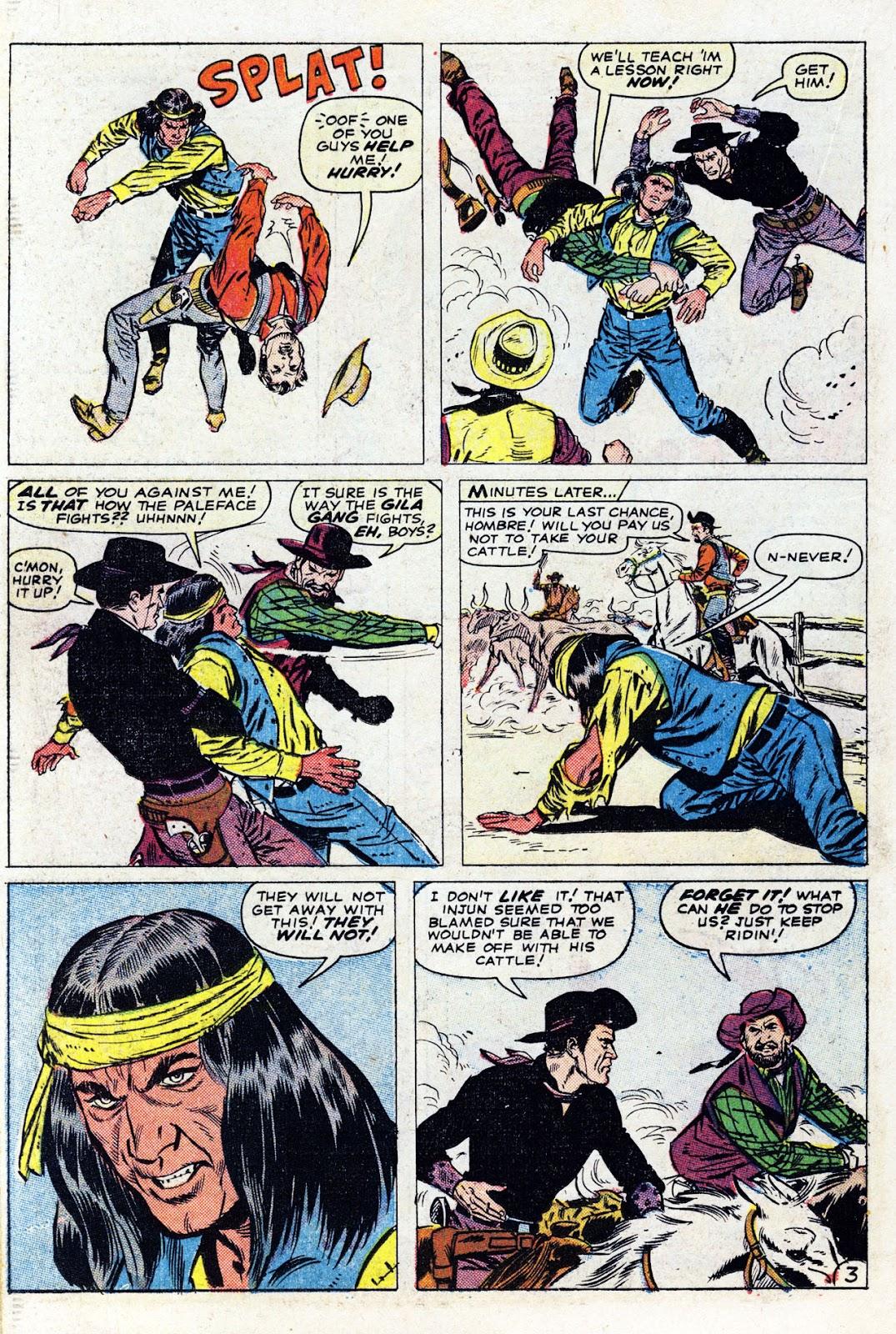 Gunsmoke Western issue 76 - Page 22