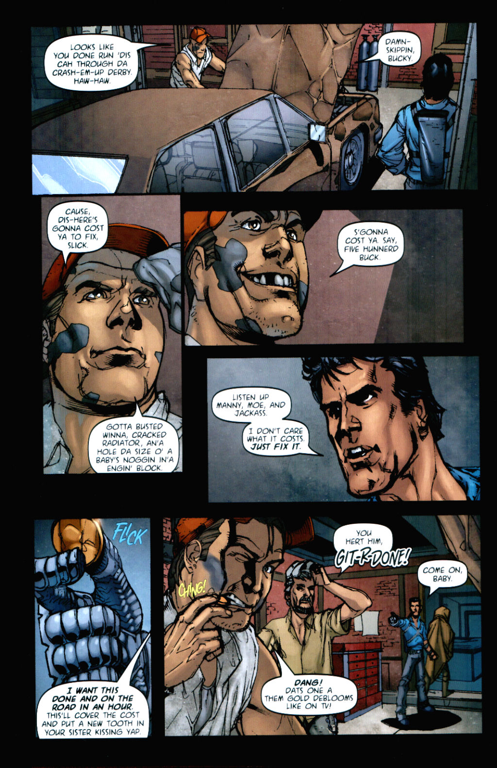Army of Darkness (2006) Issue #8 #4 - English 5