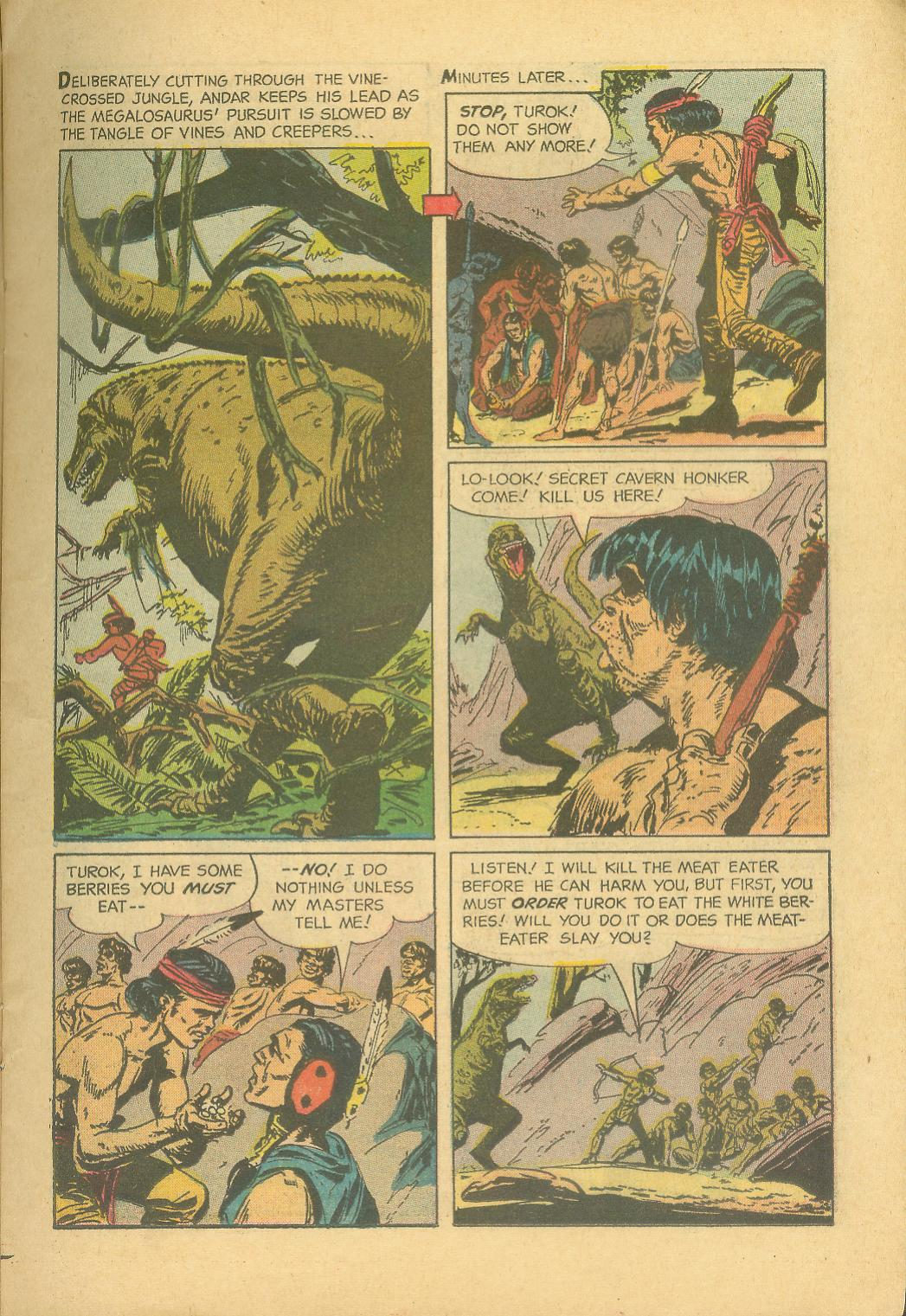 Read online Turok, Son of Stone comic -  Issue #28 - 15