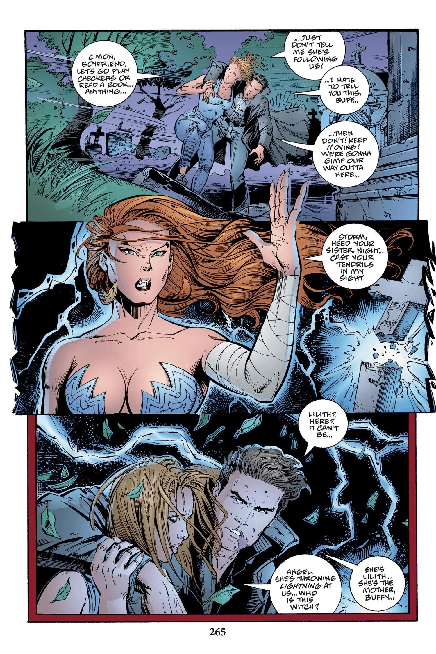 Read online Buffy the Vampire Slayer: Omnibus comic -  Issue # TPB 2 - 257