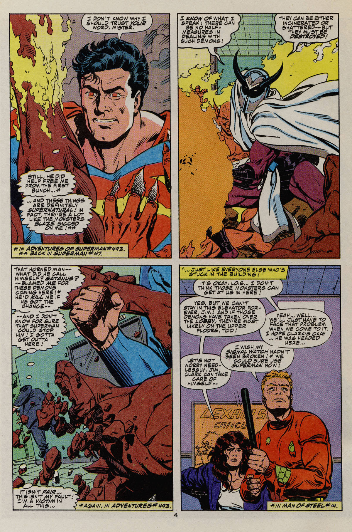 Read online Action Comics (1938) comic -  Issue #680 - 5
