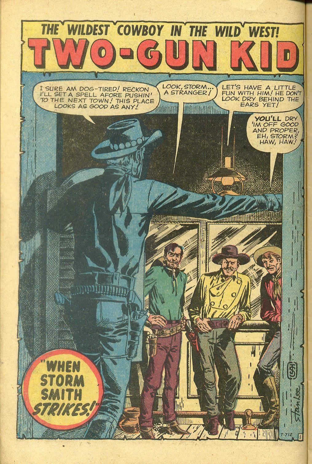 Gunsmoke Western issue 58 - Page 10