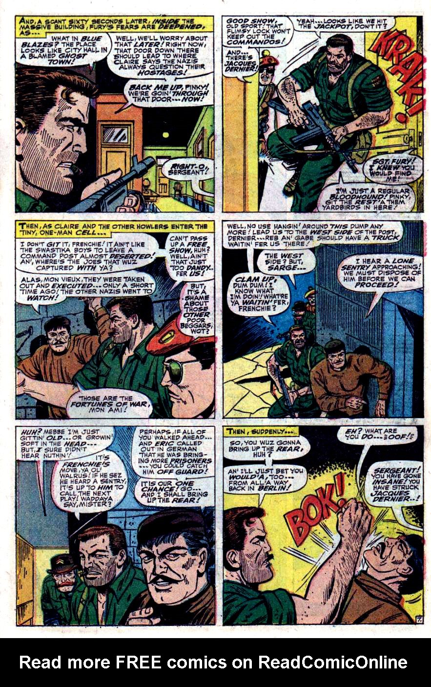 Read online Sgt. Fury comic -  Issue #40 - 11