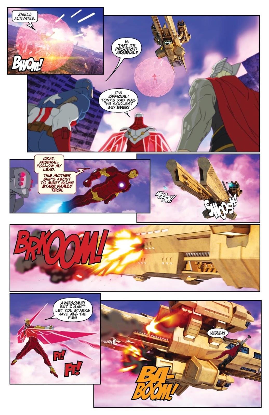 Read online Marvel Universe Avengers Assemble Season 2 comic -  Issue #1 - 19