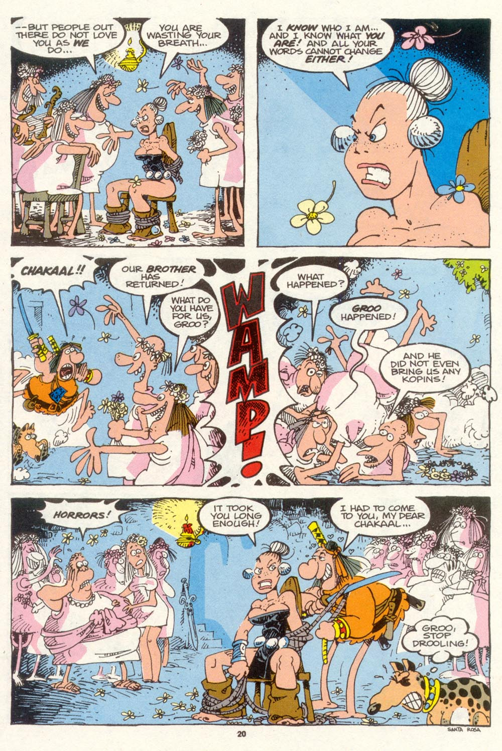 Read online Sergio Aragonés Groo the Wanderer comic -  Issue #89 - 21