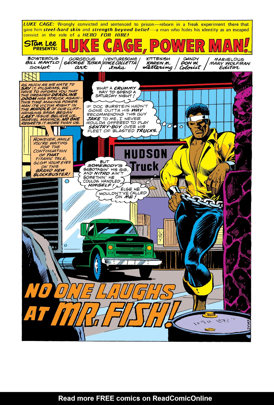 Read online Marvel Masterworks: Luke Cage, Power Man comic -  Issue # TPB 2 (Part 3) - 40