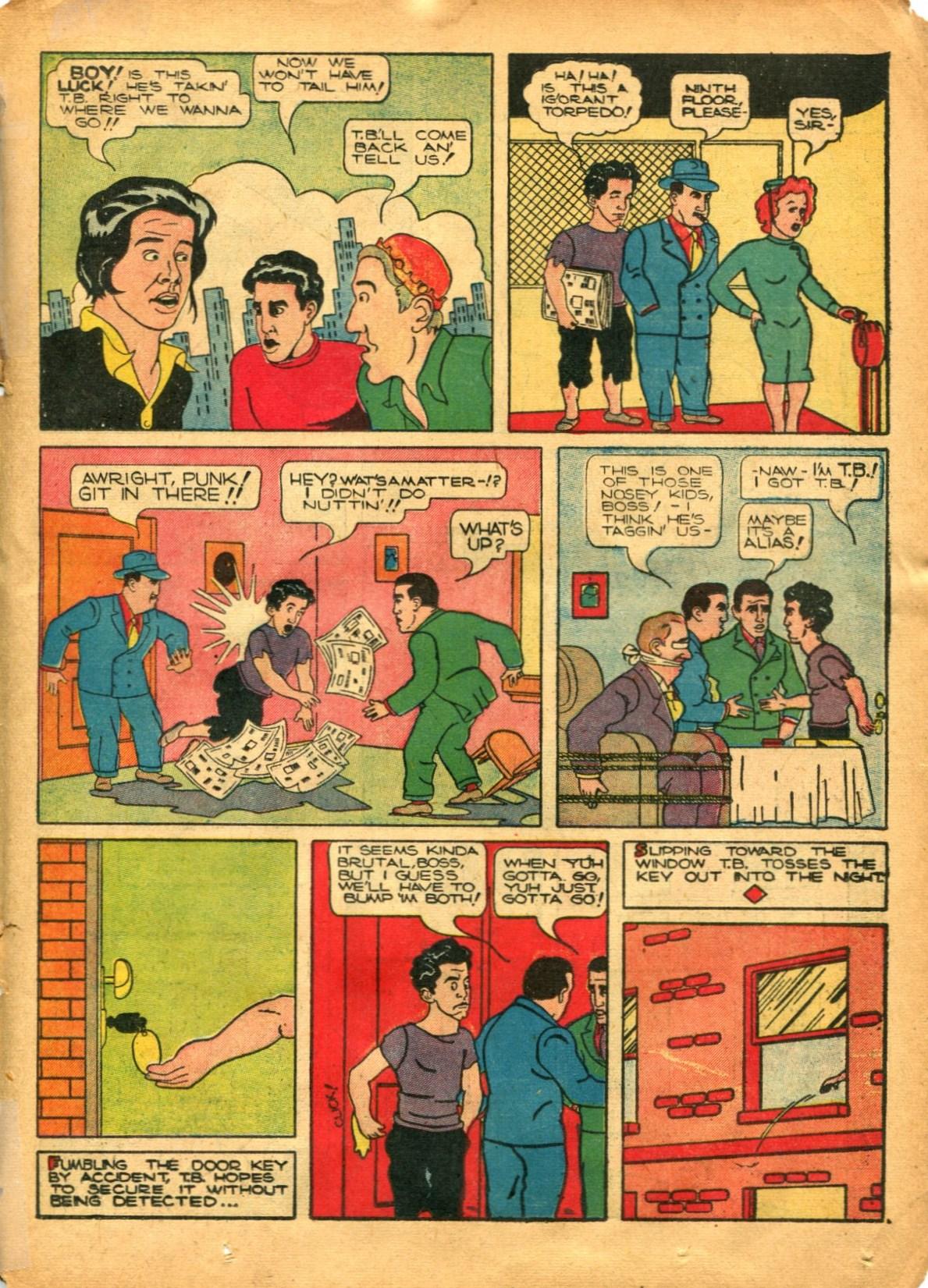Read online Shadow Comics comic -  Issue #12 - 37