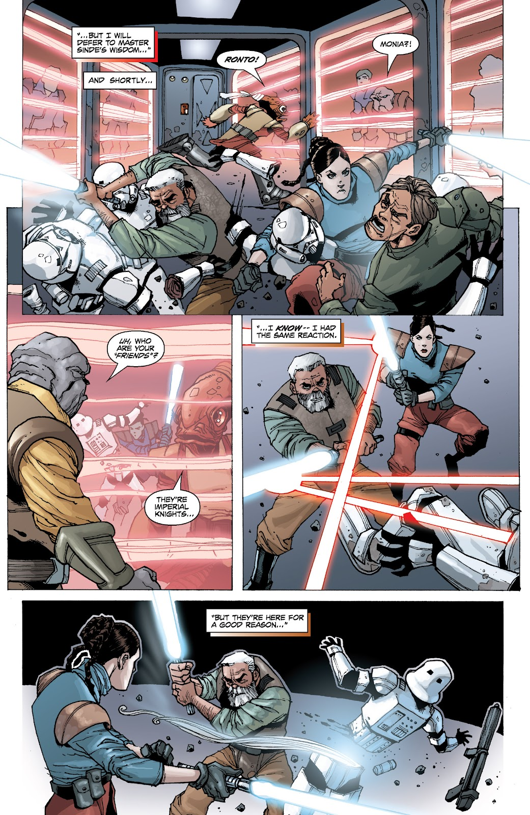Read online Star Wars Legends: Legacy - Epic Collection comic -  Issue # TPB 2 (Part 1) - 88