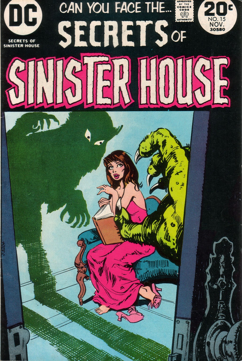 Secrets of Sinister House (1972) 15 Page 1