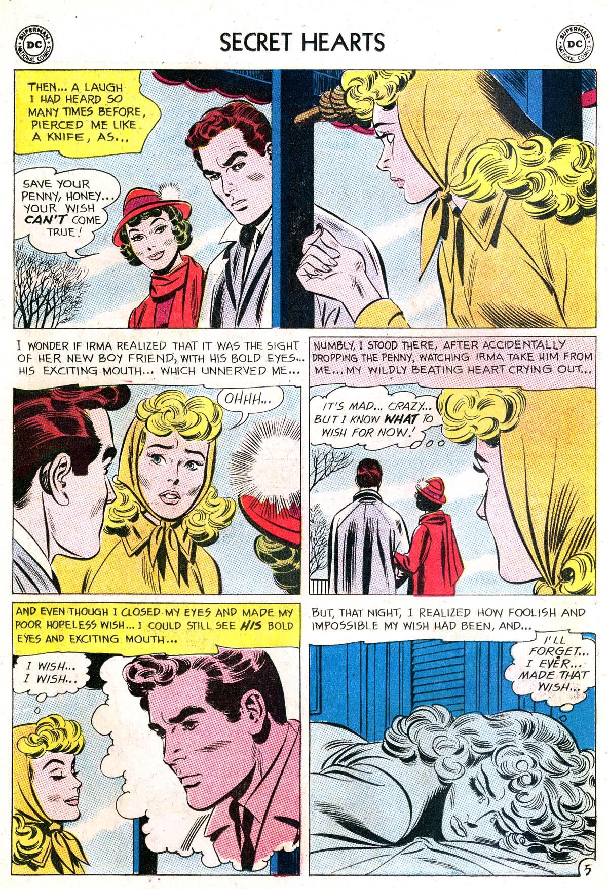 Read online Secret Hearts comic -  Issue #87 - 30