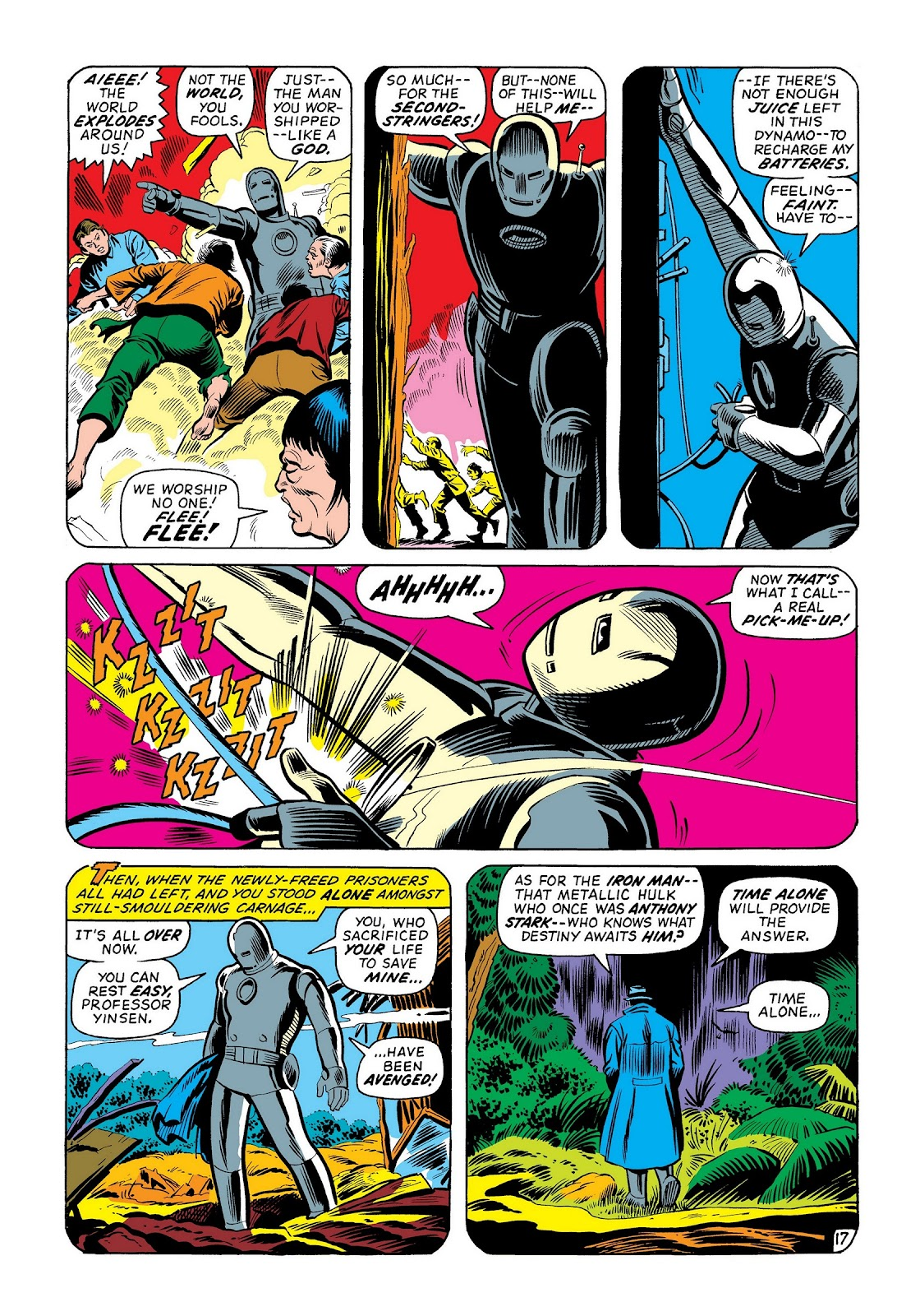 Read online Marvel Masterworks: The Invincible Iron Man comic -  Issue # TPB 8 (Part 2) - 83