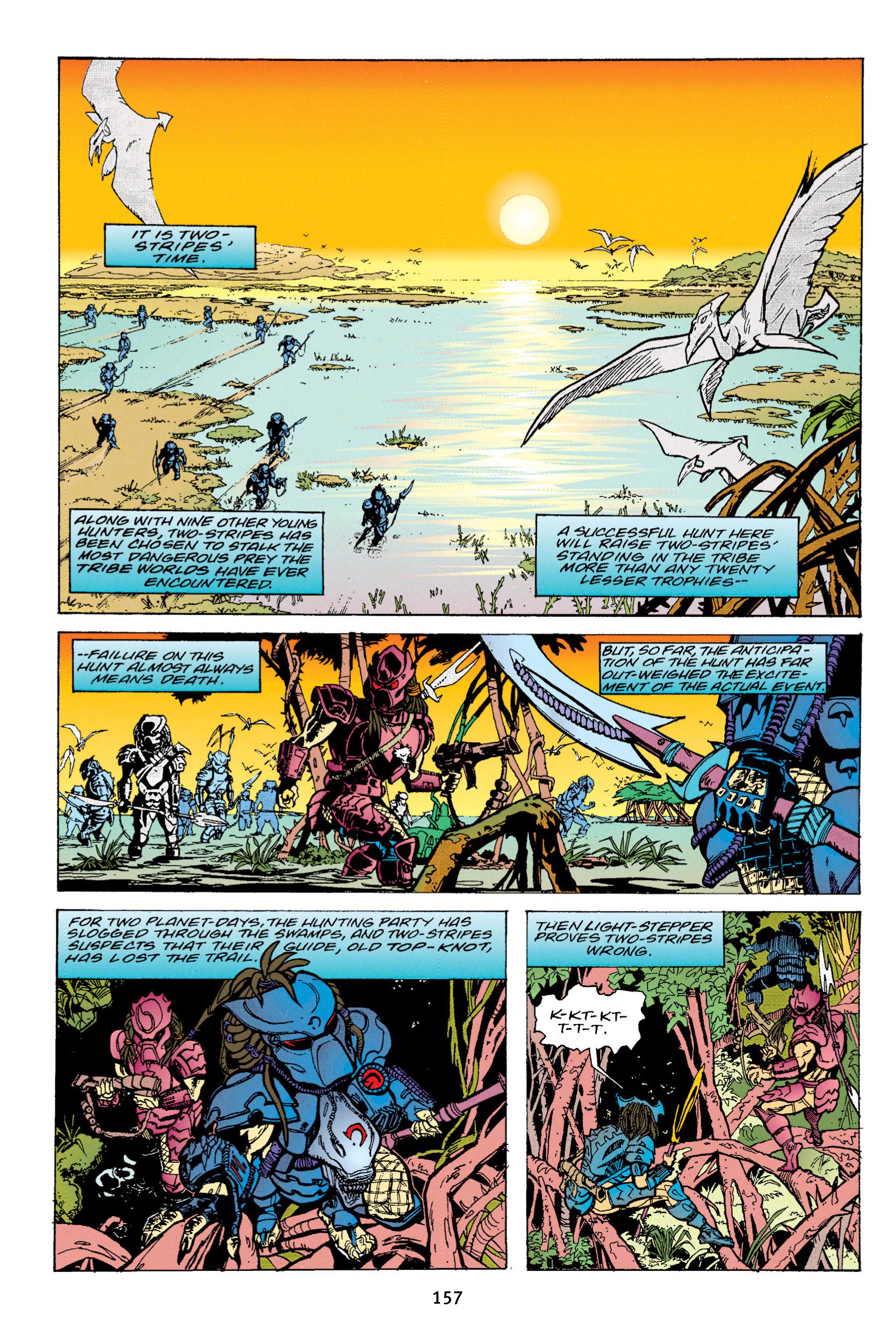 Read online Aliens vs. Predator Omnibus comic -  Issue # _TPB 1 Part 2 - 56
