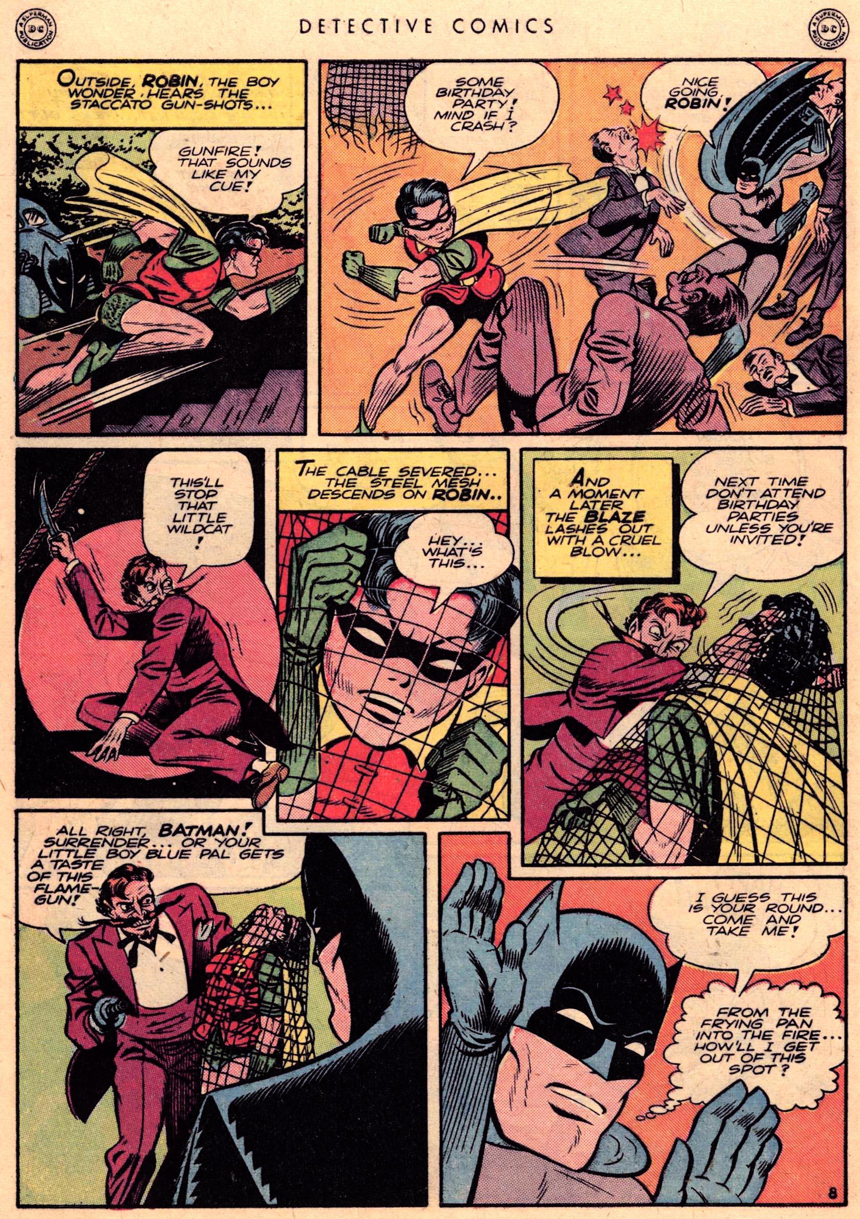 Read online Detective Comics (1937) comic -  Issue #95 - 10