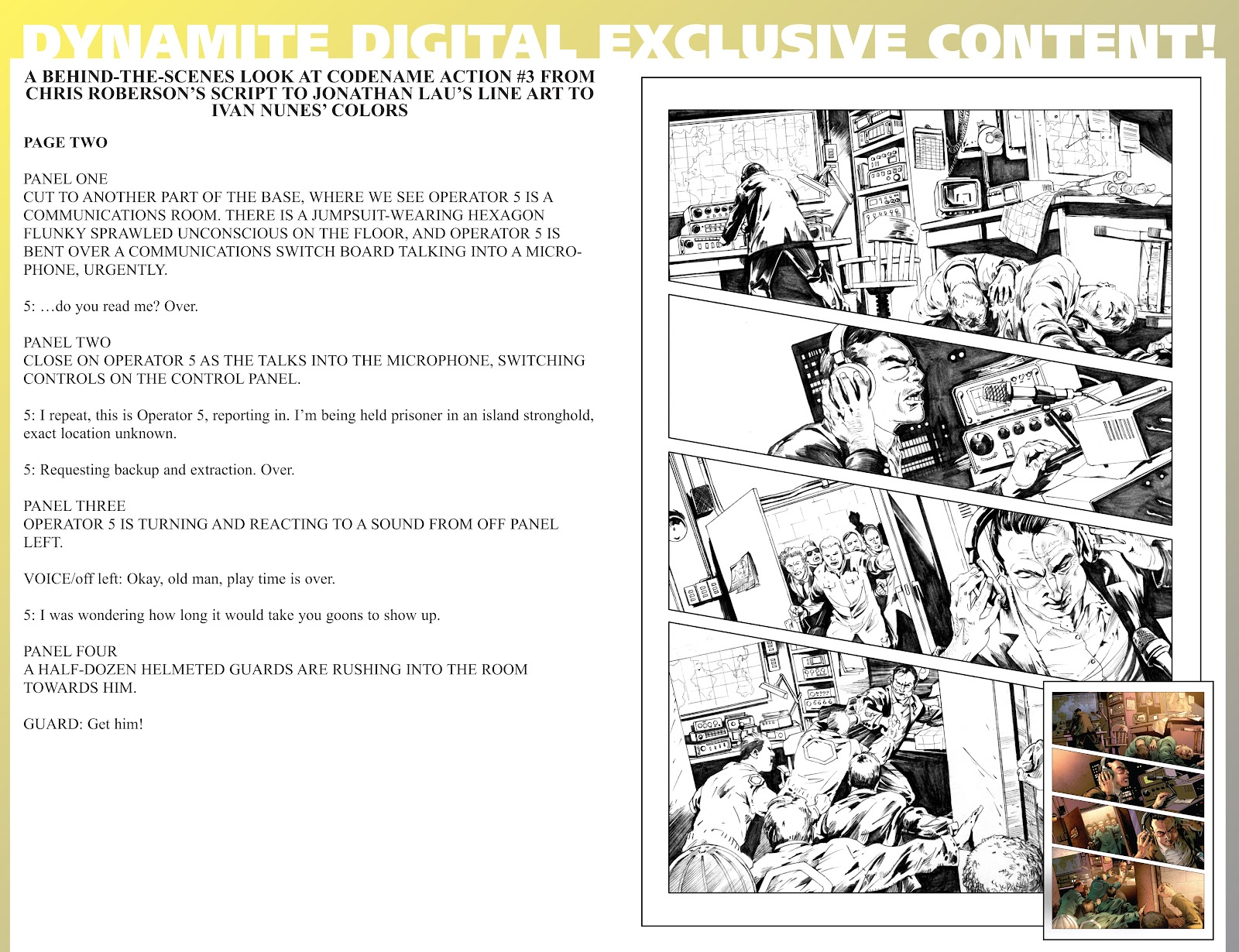 Read online Codename: Action comic -  Issue #3 - 36