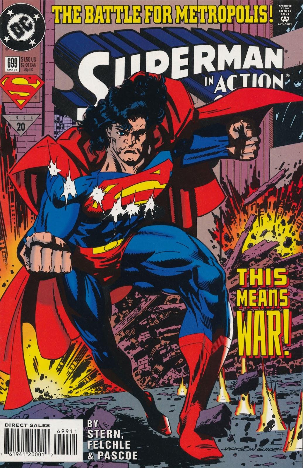 Action Comics (1938) 699 Page 1
