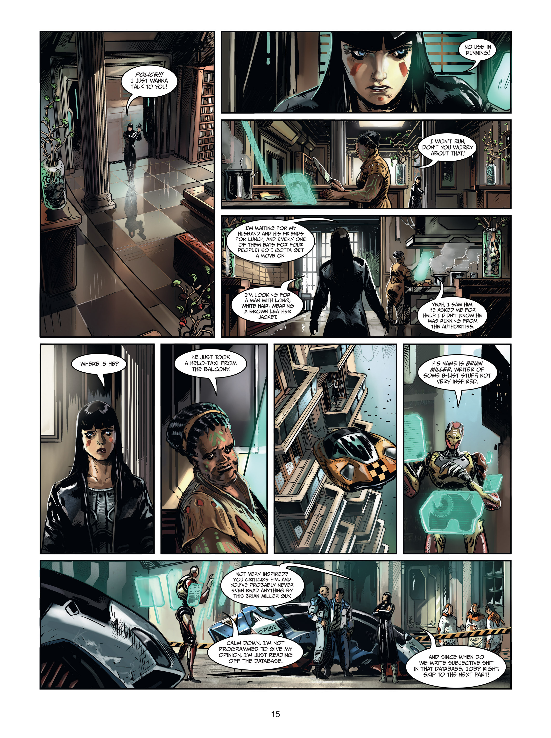 Read online Androïds comic -  Issue #1 - 13