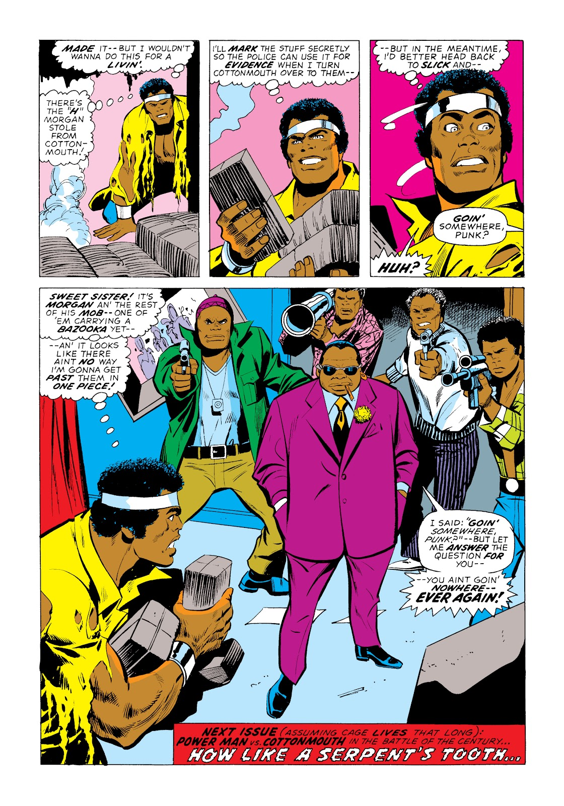 Read online Marvel Masterworks: Luke Cage, Power Man comic -  Issue # TPB 2 (Part 1) - 67