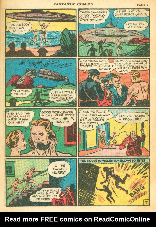 Read online Fantastic Comics comic -  Issue #12 - 9
