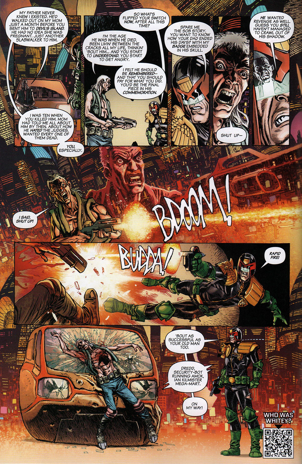 Read online Free Comic Book Day 2017 comic -  Issue # 2000 AD prog - 8