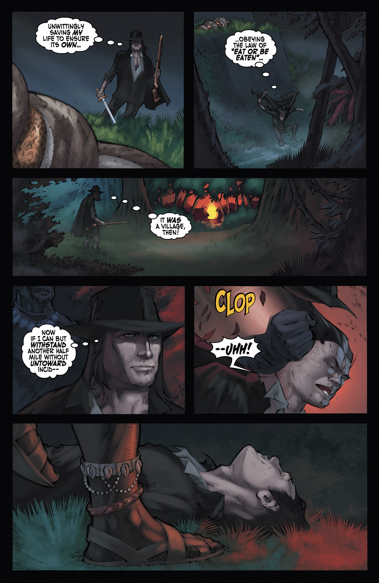 Read online Solomon Kane: Red Shadows comic -  Issue #3 - 11