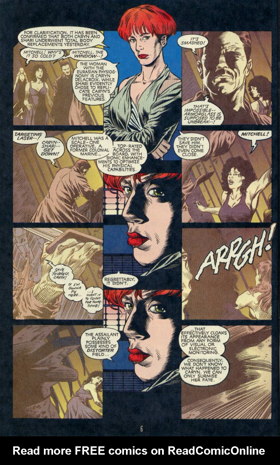 Read online Aliens/Predator: The Deadliest of the Species comic -  Issue #2 - 7