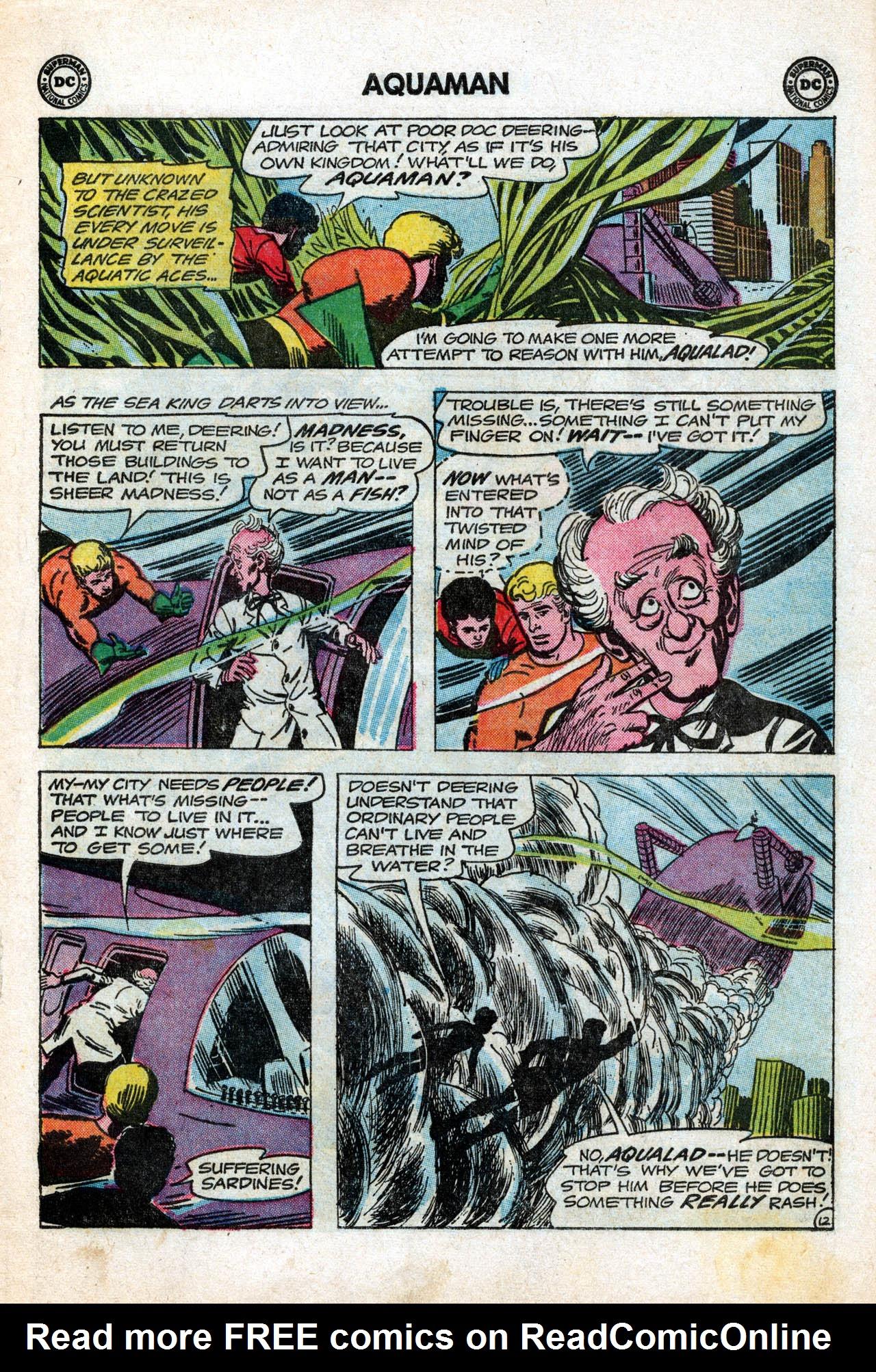 Read online Aquaman (1962) comic -  Issue #15 - 17
