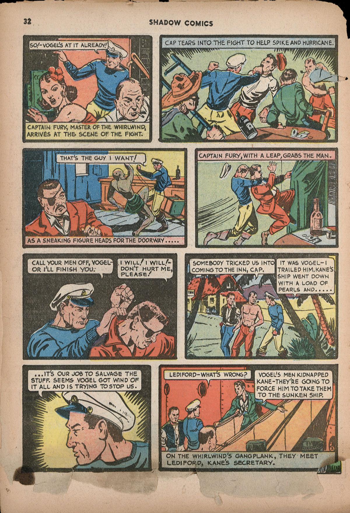 Read online Shadow Comics comic -  Issue #2 - 35