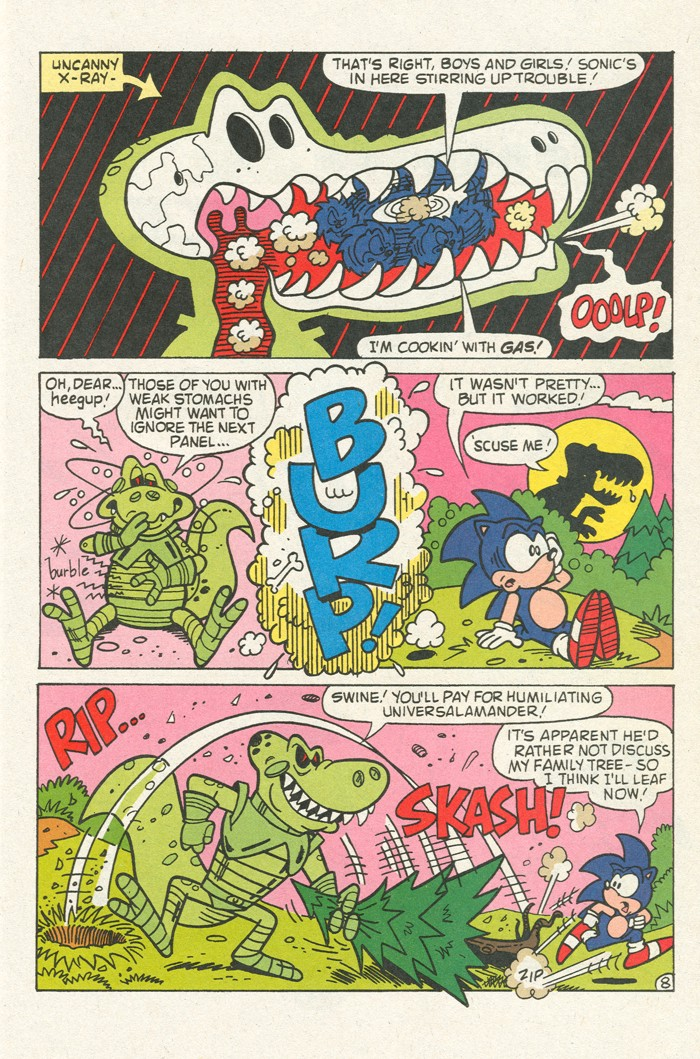 Read online Sonic Super Special comic -  Issue #3 - Sonic Firsts - 32