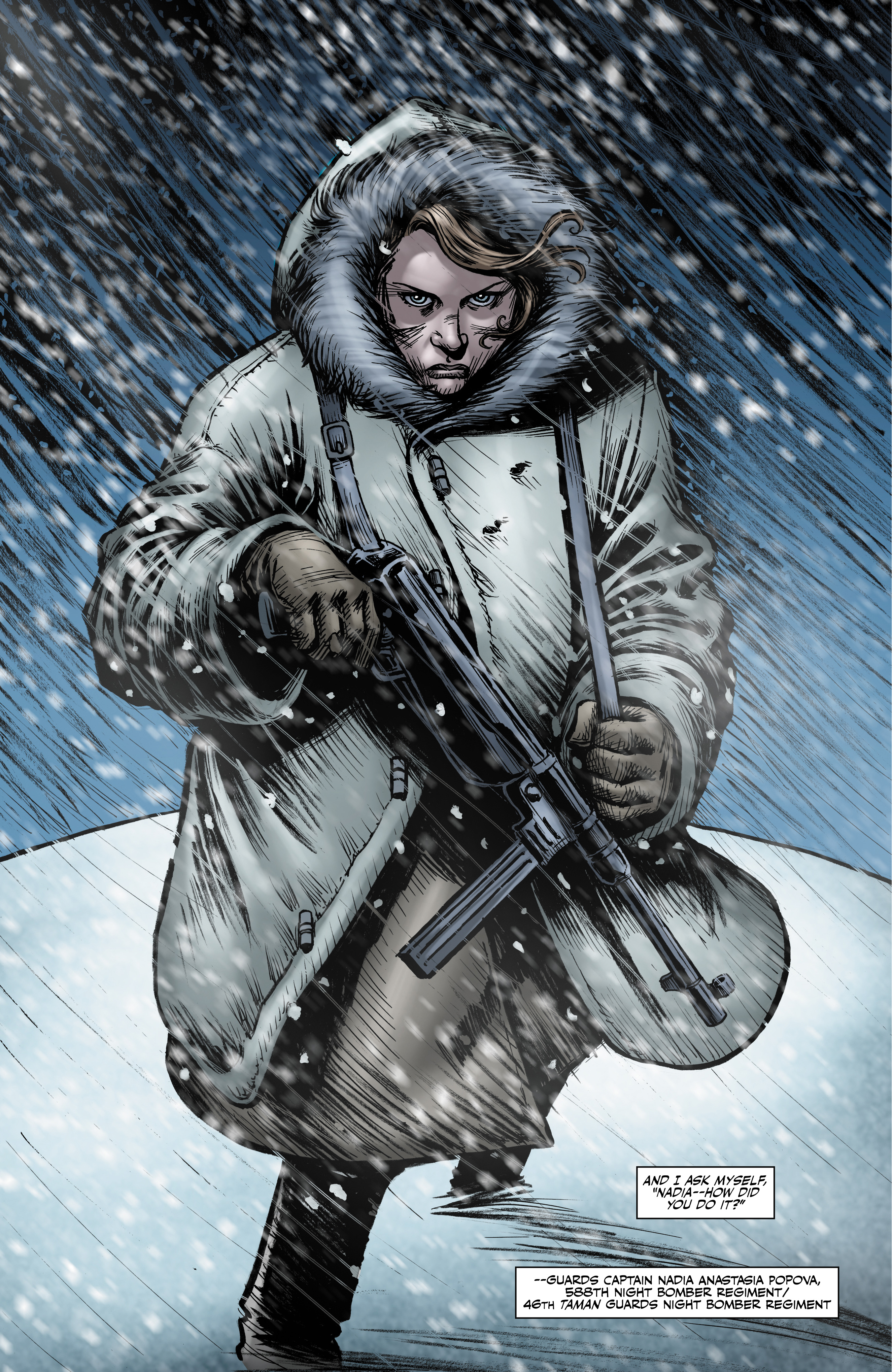 Read online Battlefields: Night Witches comic -  Issue # TPB - 72