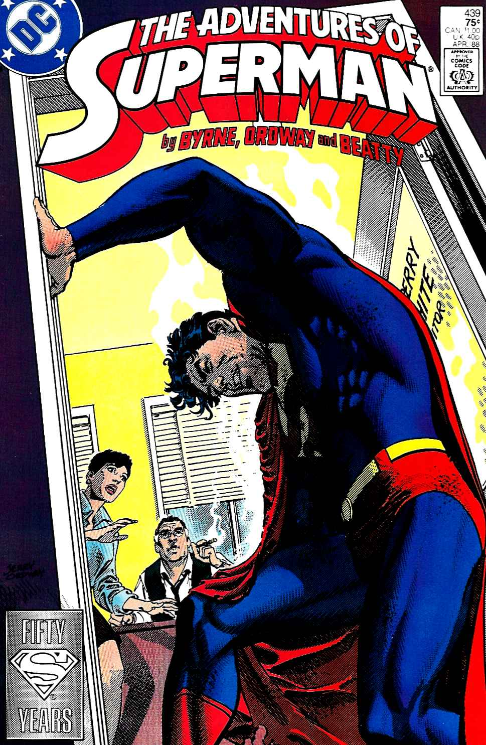 Read online Adventures of Superman (1987) comic -  Issue #439 - 1
