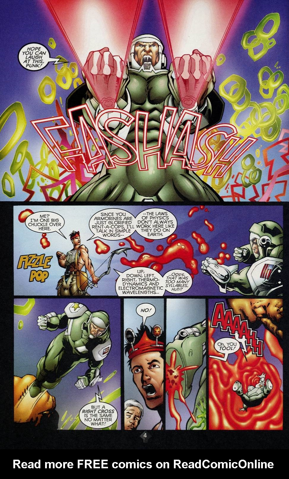 Read online Turok comic -  Issue #2 - 4