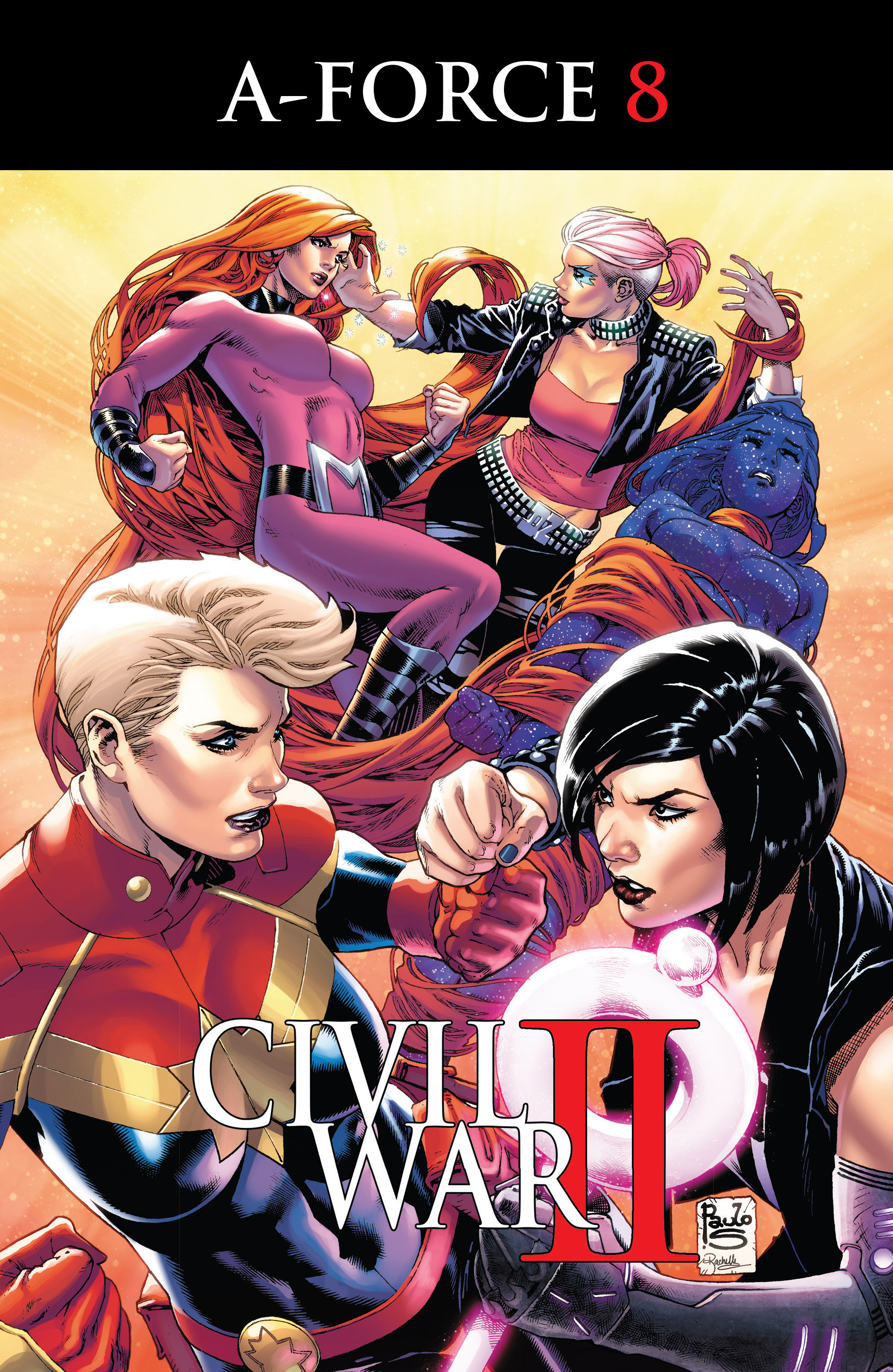 Read online A-Force (2016) comic -  Issue #7 - 23