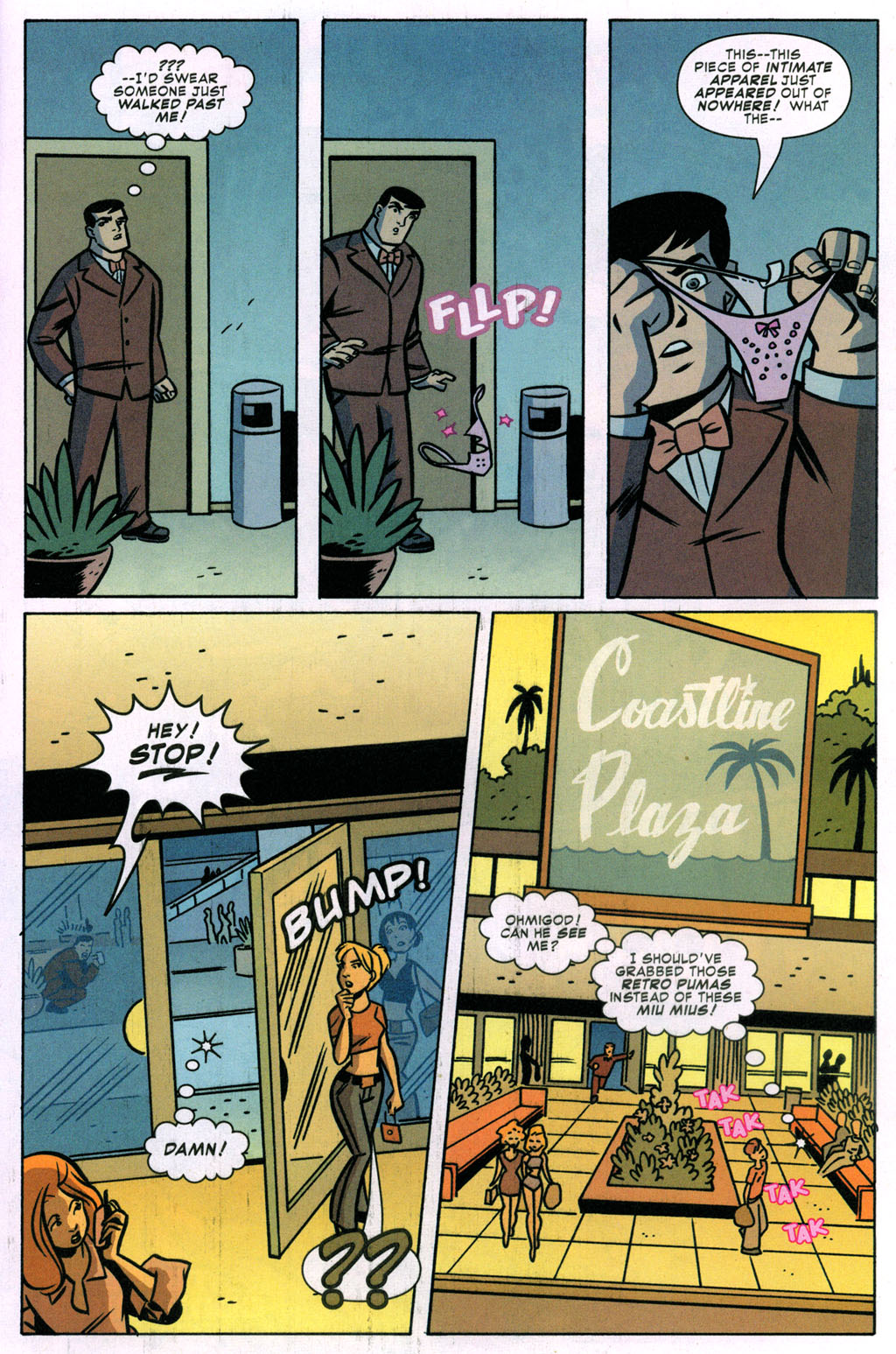 Read online Bad Girls comic -  Issue #3 - 22